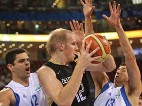 Greece beats Germany 87-64 in men's basketball group match 