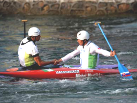 Slovakia, Germany win canoeing slalom men's C1, K1 golds