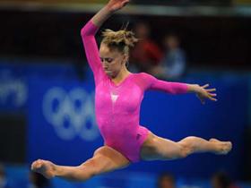 American Liukin wins women's all-around gymnastics