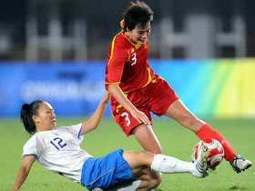 China eliminated in women's soccer quarterfinals