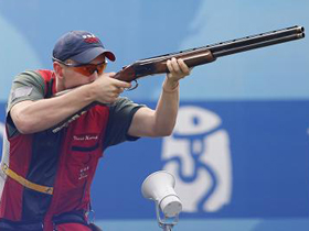 American Vincent Hancock wins men's skeet gold