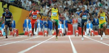 Usain Bolt of Jamaica wins 100m gold -- china.org.cn