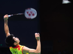Lin Dan wins men's s singles gold medal