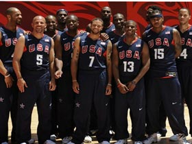 US routs Spain 119-82 in men's basketball preliminary