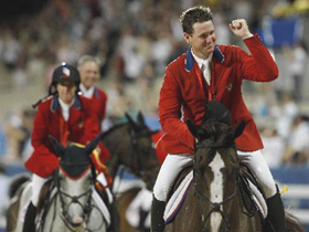 US wins Equestrian Jumping Team gold