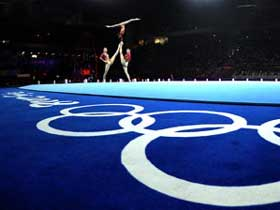 Gymnastics artistic gala of Beijing Olympics