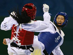 China's Wu wins women's 49kg taekwondo gold
