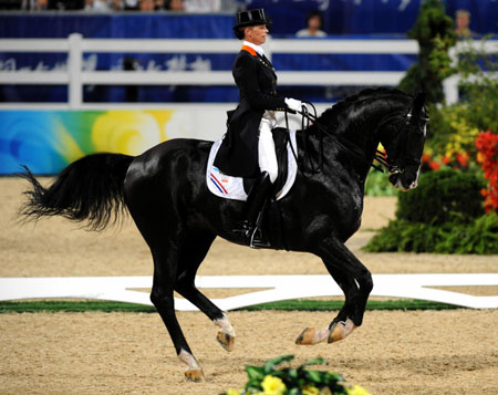 Dutch Van Grunsven Wins Dressage Gold China Org Cn