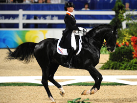 Dutch van Grunsven wins dressage gold