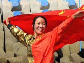 Yin Jian wins China's first ever Olympic sailing gold