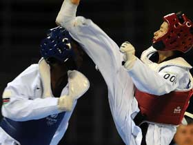 Wu Jingyu seeking her first Olympic taekwondo title