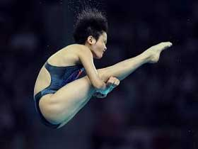 Chen Ruolin wins women's platform gold