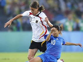 Germany edges Japan 2-0 to win women's soccer bronze