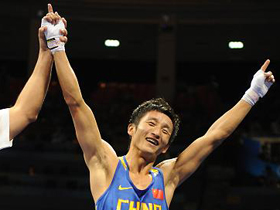 China's Olympic medal hopeful Zou enters boxing final