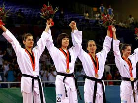 Lim of ROK wins Women's 57kg Taekwondo gold