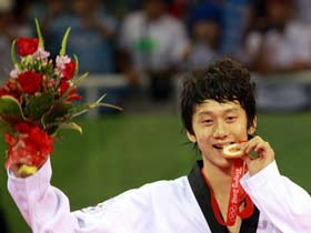 ROK's Son wins Olympic Taekwondo Men's 68kg gold