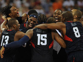 US wins men's basketball Olympic gold