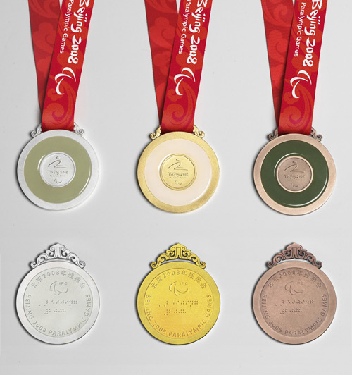 Medals of the Beijing 2008 Paralympic Games