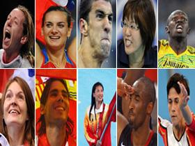 10 shining Olympic stars