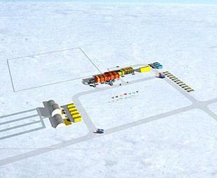 China to build 1st inland antarctica station
