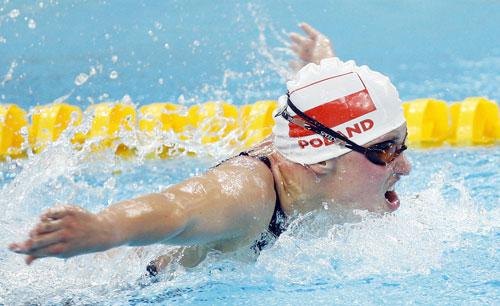 Photos: Joanna Mendak wins Women's 100m Butterfly - S12 gold