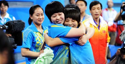 China wins Women's Team Class 6-10 gold