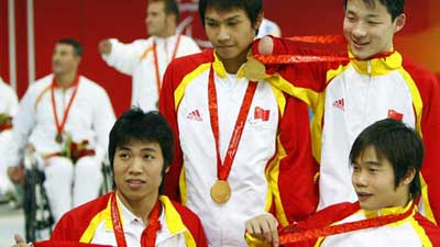 China claims title of Men's 4 x 50m Medley 20pts