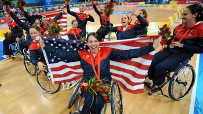 US beats Germany for Women's Wheelchair Basketball gold
