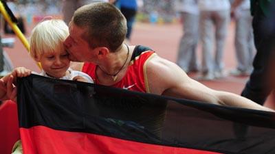 Wojtek Czyz of Germany wins Men's Long Jump F42/44 gold