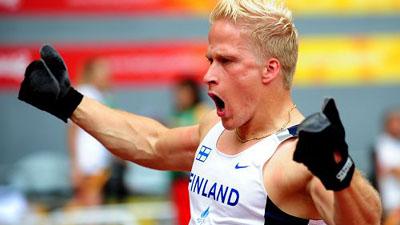 Leo-Pekka Tahti of Finland wins Men's 100m T54 gold