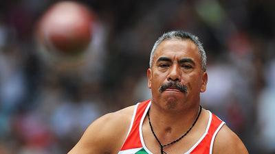 Mexico's Mauro Maximo wins Men's Shot Put F53/54 gold