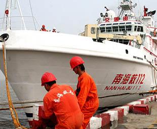 Emergency rescue ship for Shenzhou-7 ready