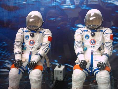 The Feitian extra-vehicular activity (EVA) suit is China's first indigenous space suit.