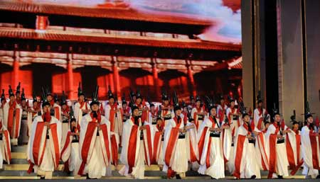 The festival kicked off with a grand performance here on Saturday and a string of academic and commercial programs will also be included in the following days. The philosophy of Confucius has exerted profound influence on Chinese culture and cultures of other countries. [Photo: Xinhua]