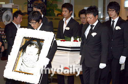 Funeral held for top Korean actress Choi Jin-Sil -- china org cn