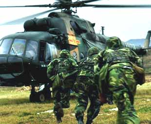 Military exercise Vanguard-2008 concludes