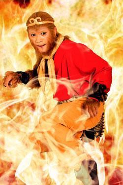 Fei Yang as the Monkey King (Sun Wukong)