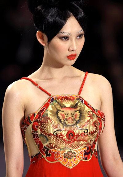 Chinese Fashion Models