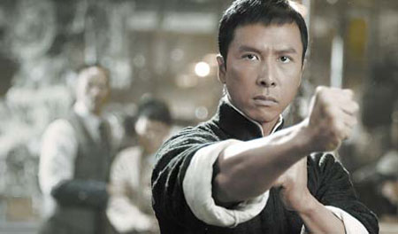 Donnie Yen in the new biopic of Bruce Lee's mentor, Ip Man.