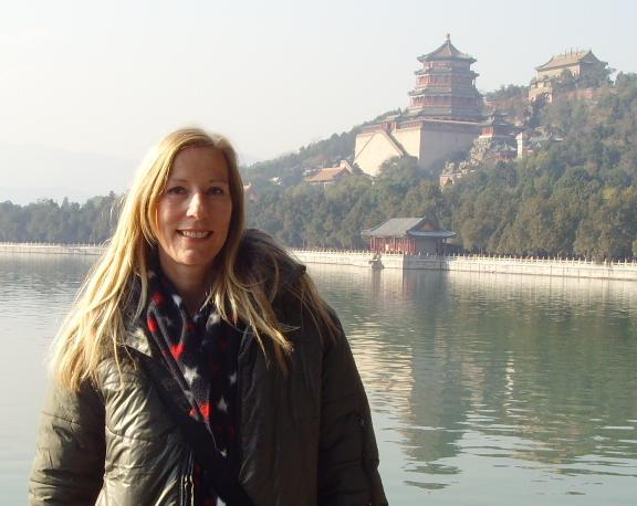 Heike Barteis in Beijing
