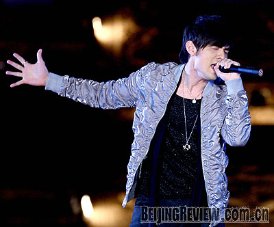 Jay Chou is a Chinese fashion icon