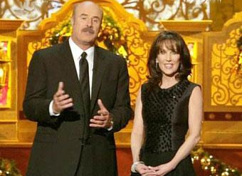 Hosted by television personality dr phil mcgraw and his wife robin