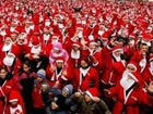 Almost 4,000 Santas gather to break world record
