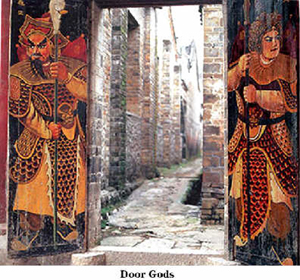 Image result for new year door god