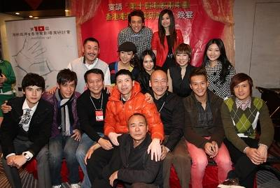 Well-known directors at 10th Seminar for Film Directors from the Chinese mainland, Taiwan and Hong Kong.