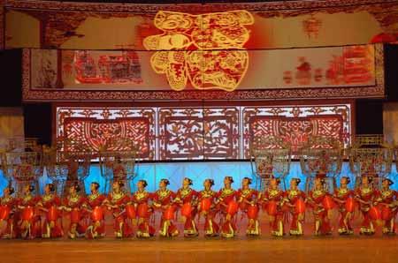Spring Festival Gala rehearsal
