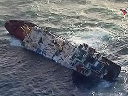 Ship last saturday near russia s far eastern port of vladivostok