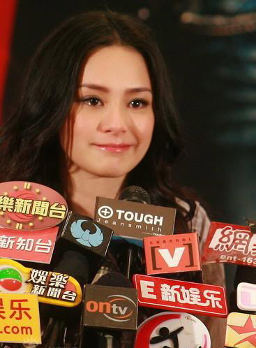 Gillian Chung Makes High Profile Comeback China Org Cn