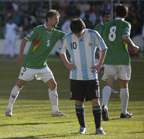 Bolivia Crushes Argentina 6 1 In Qualifier China Org Cn