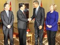 Hu Jintao, Obama agree to build positive Sino-US ties
